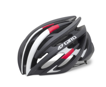Giro Aeon   Matte Black/ Bright Red